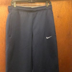 Navy Nike sweatpants